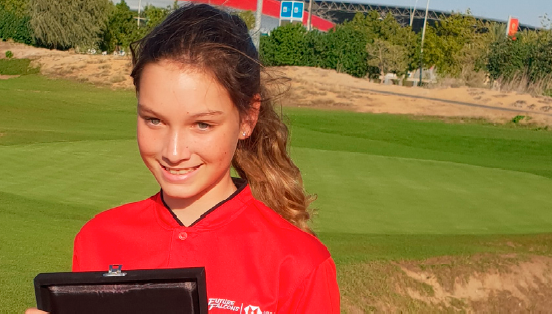 Abu Dhabi student is set to be a junior golfer